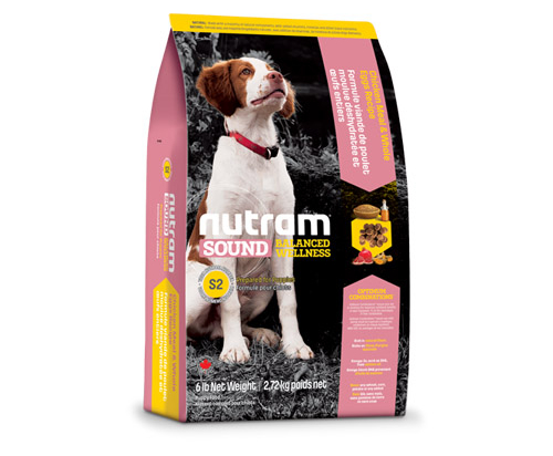 Nutram Sound Balanced Wellness® Puppy Food Chicken and Whole Eggs