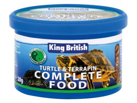 King British Turtle and Terrapin Food 80g