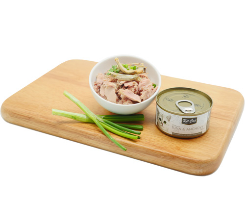Kit Cat Deboned Tuna & Anchovy Toppers 24x80g