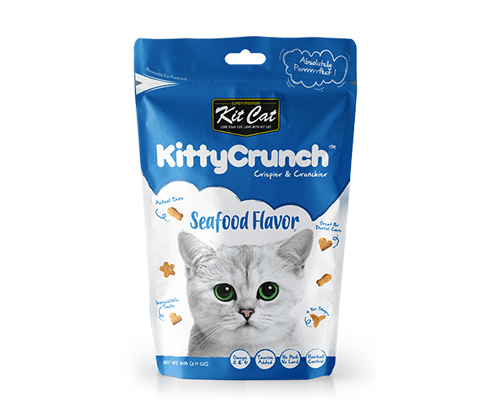 Kit Cat Kitty Crunch Seafood Flavor 60g