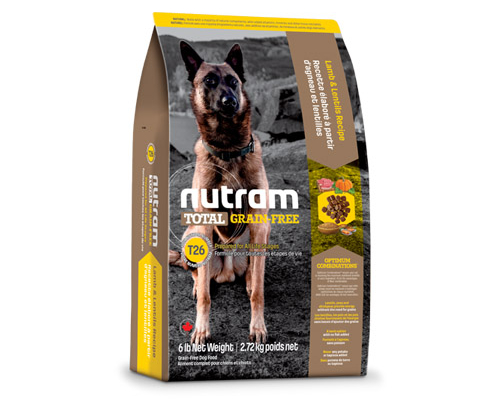 Nutram Total Grain-Free® Lamb and Lentils all life stages