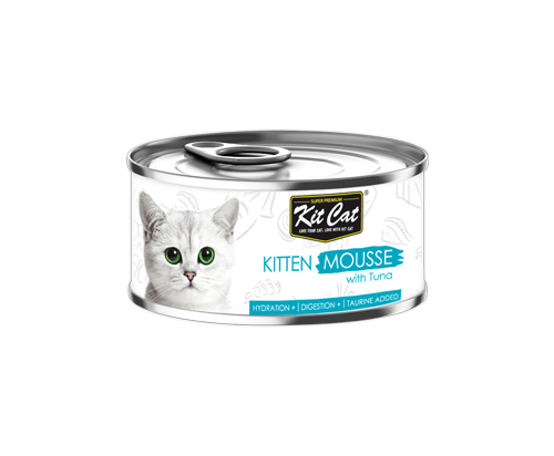 Kit Cat Kitten Mousse with Tuna 24x80g
