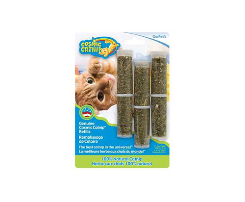OurPets Catnip, 3-Pack Refill Tubes