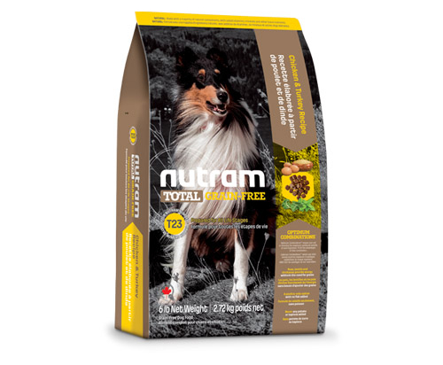 Nutram Total Grain-Free® Chicken and Turkey all life stages