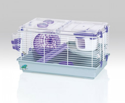 trudy hamster cage large purple