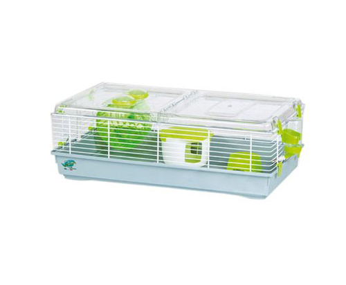kirby cage for hamsters medium green