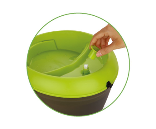 Dog H2OFresh & Filtered Pet Water Fountain with Dental Care Tablets 6L