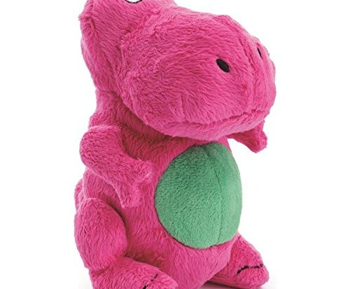 goDog Just for Me T-Rex with Chew Guard Technology Tough Plush Dog Toy