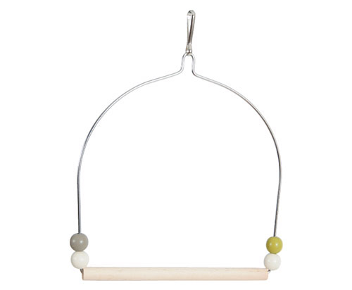 ZOLUX Wood Swing with Iron Frame