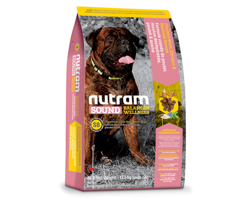 Nutram Sound Balanced Wellness® Large Breed Adult Dog Chicken and Oatmeal