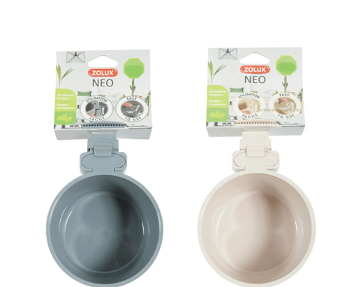Zolux Hanging Plastic Bowl  300ml