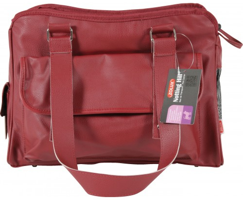 Zolux Red Carrier for Cats & Dogs