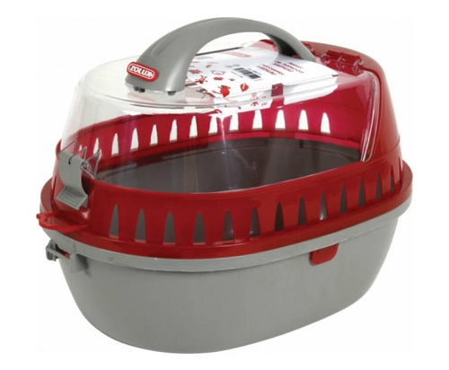 Zolux Small Pet carrier medium - Red