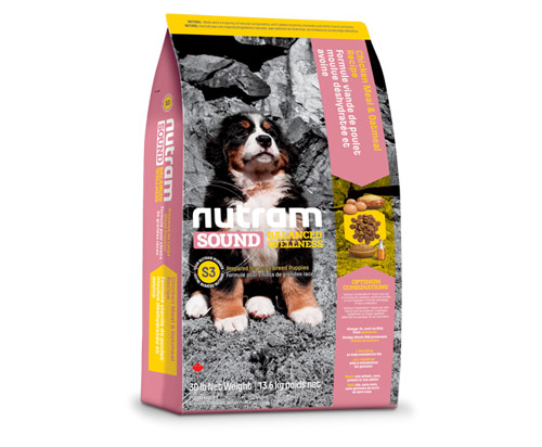 Nutram Sound Balanced Wellness® Large Breed Puppy Chicken and Oatmeal