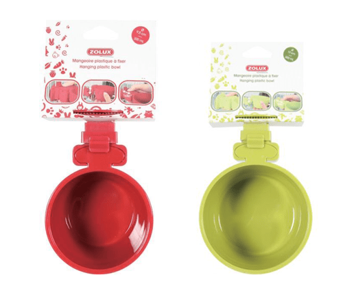 Zolux Hanging Plastic Bowl 500ml