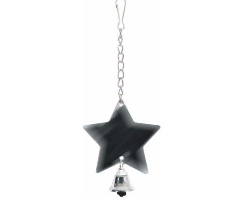 ZOLUX Metal Star Shaped Mirror with Bell
