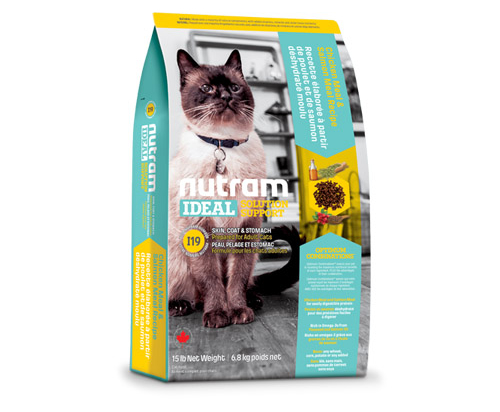 Nutram Ideal Solution Support® Skin & Coat & Stomach Dry Food Chicken and Salmon