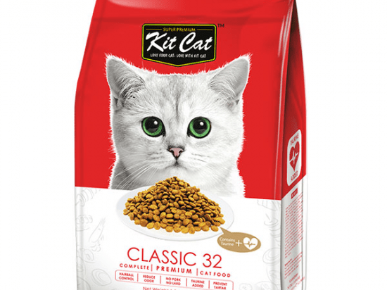 Kit Cat Classic 32 (Taurine Added) Dry Cat Food