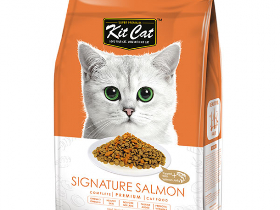 Kit Cat Signature Salmon (Beautiful Hair) Dry Cat Food