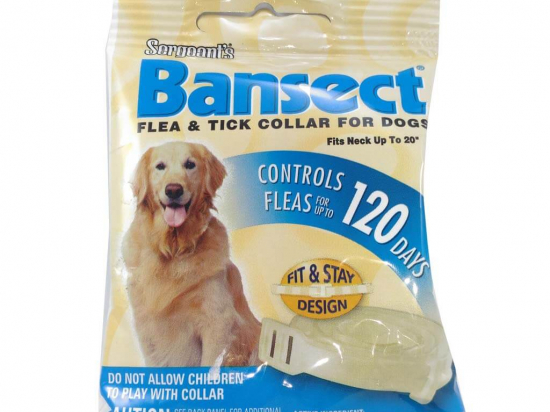 Sergeant's Bansect Flea & Tick Collar For Dogs