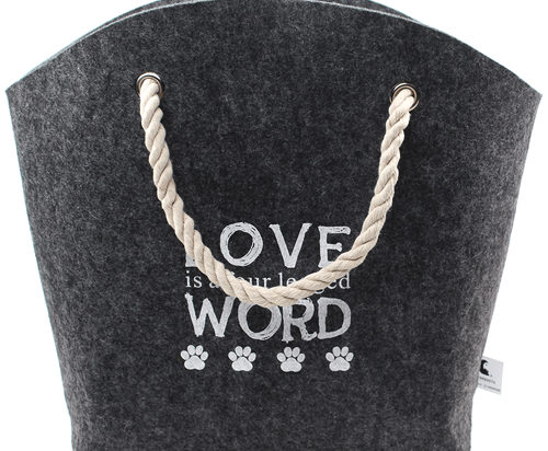 Pet Products 'Love Word' Cat Basket