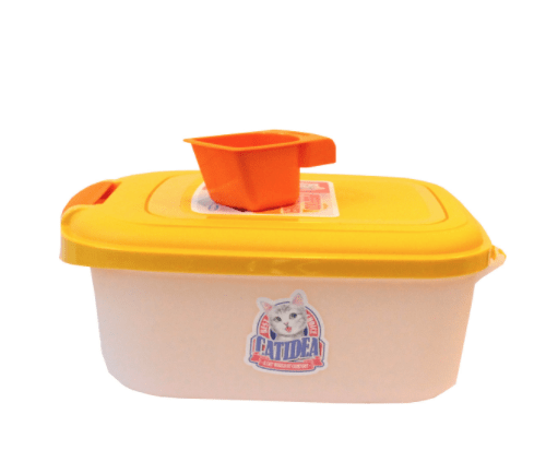 CATIDEA Pet Food Container 2Kg