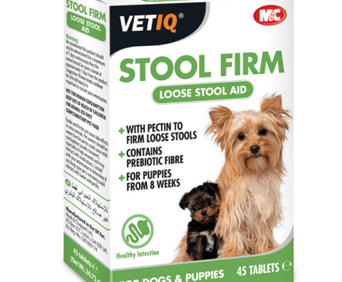 M&C Stool Firm-UM Hardens Loose Stools for Dogs & Puppies 30 Tablets