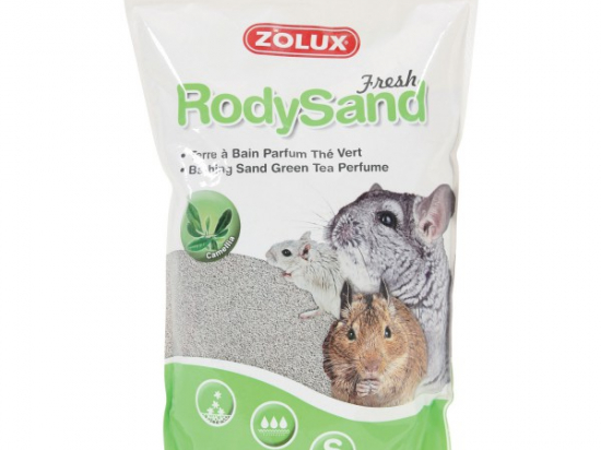 ZOLUX RodySand Dust Bath for Rodents 2L