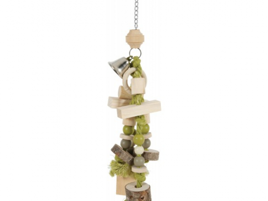 """Zolux Wooden Toy for Parrots/Large Parakeets """"Callao"""""""