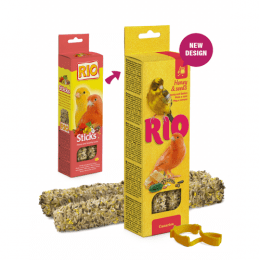 RIO Sticks treats with honey and seeds for Canaries 40g