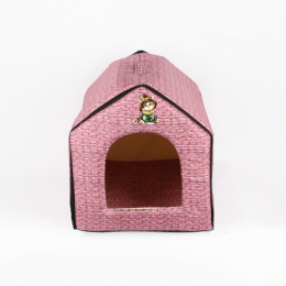 Portable Cat House Pink