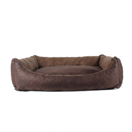 Libra ECO Leather dog bed 80x60 cm