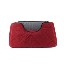 Square comfy bed 3 sizes - Red