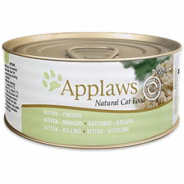 Applaws Kitten Chicken Breast Can 24x70g