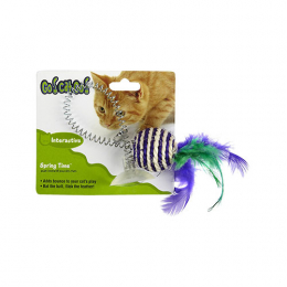 OurPets Spring Time interactive Go!Cat!Go! Spring Time Toy ,adheres to most solid surfaces