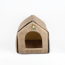 Portable Cat House Brown