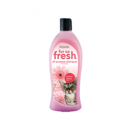 Fur So Fresh Cat Shampoo Sweet Daisy Scent 18oz