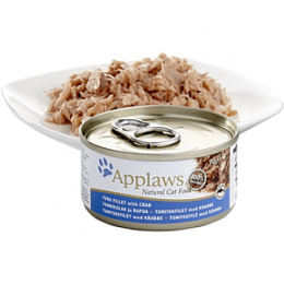 Applaws Tuna & Crab Can 70g - x24