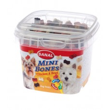 Sanal Mini Bones Chicken & Beef Cups 100g