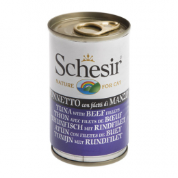 Schesir Tuna with Beef cans 24x140g
