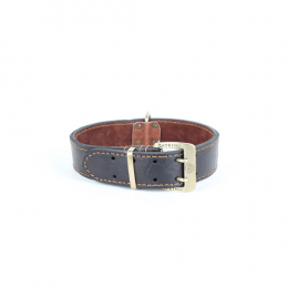 PU Leather Large Dog Collar 84x5 cm