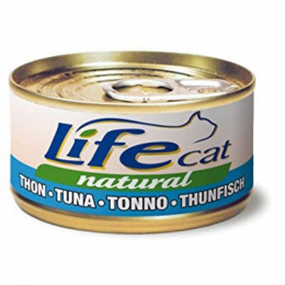 Life Cat Natural Wet Food Cans Tuna 24x70g