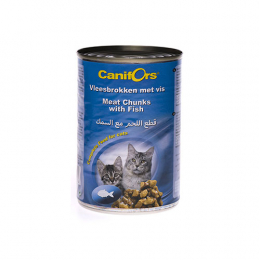 Canifors meat chunks with fish -410g x24