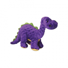 goDog Small Bruto Tough Plush Dog Toy