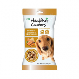 Healthy Centres - With Real Chicken & Vegetables Dog Treats 113g