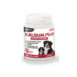 M&C Kalsium Plus Calcium Supplement for Cats & Dogs 60 tablets