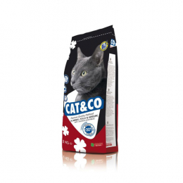 Cat&co Chichen & Beef Dry Food 20kg