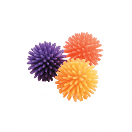 Zolux 3 Spiked rubber balls