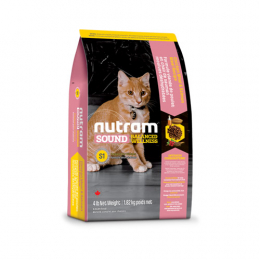 Nutram Sound Balanced Wellness® Kitten Dry Food Chicken and Salmon
