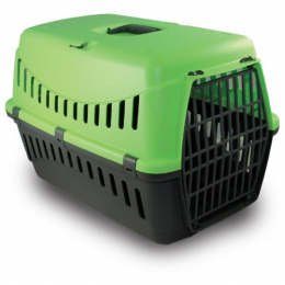 Bergamo Cat Pet Carrier with Plastic Door